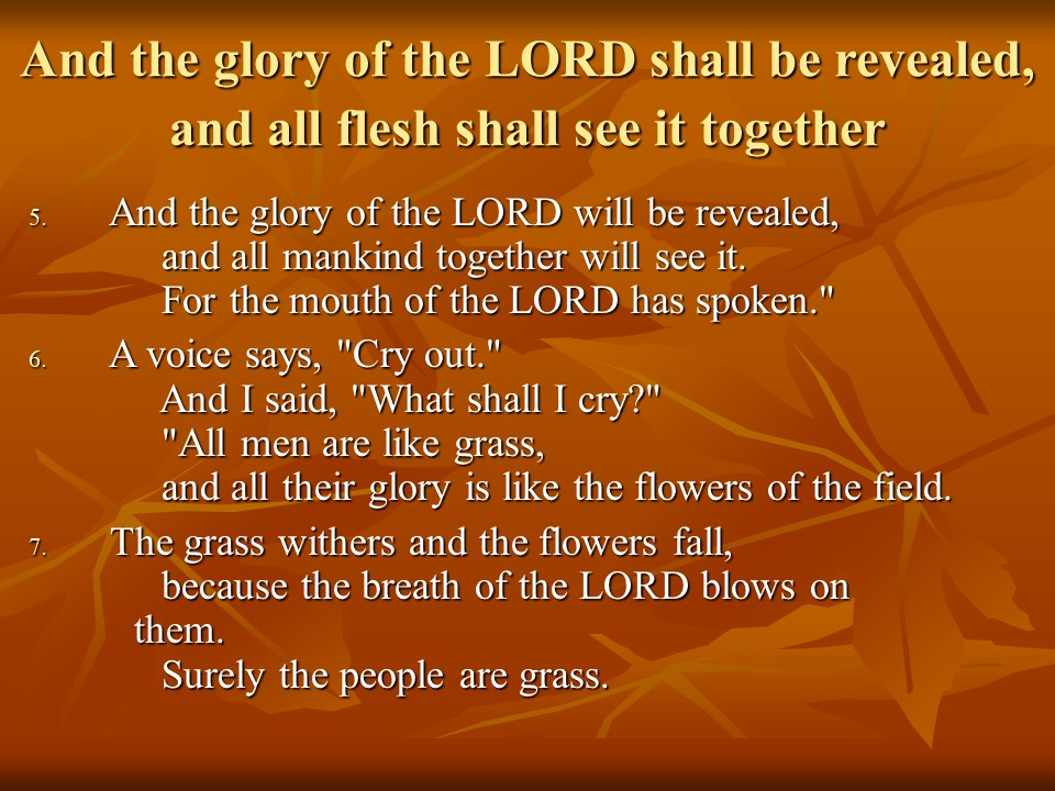 This image has an empty alt attribute; its file name is isaiah40.jpg